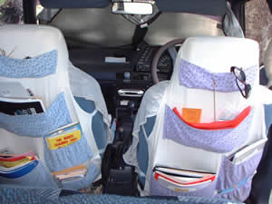 Car Seat Travel Packs and Storage Solution