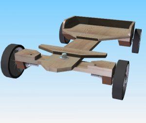 wooden-go-kart-002-top-front-view